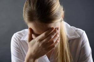 tristeza por culpa de la ansiedad