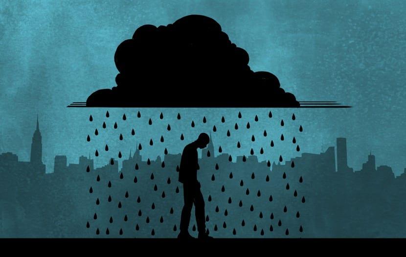 sentimiento de lluvia