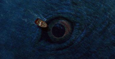 ojo en el fondo del mar