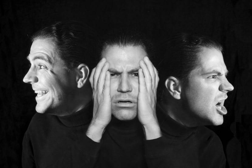 Un hombre con trastorno bipolar