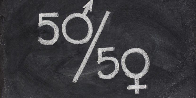 Los hombres y las mujeres mismos derechos y deberes