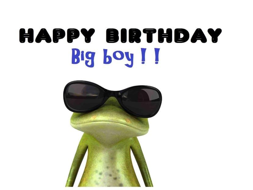 Felicitación de cumpleaños graciosa para un adulto