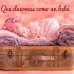 frases de buenas noches con bebé bonito