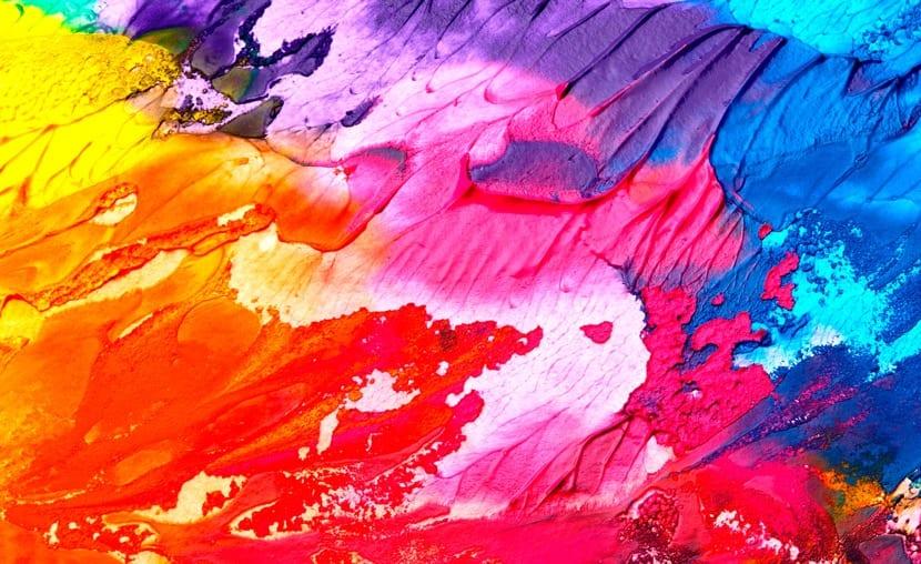los colores básicos de la colorterapia