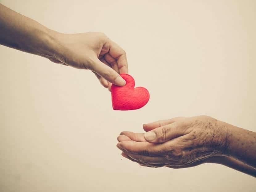 dar y recibir compasion