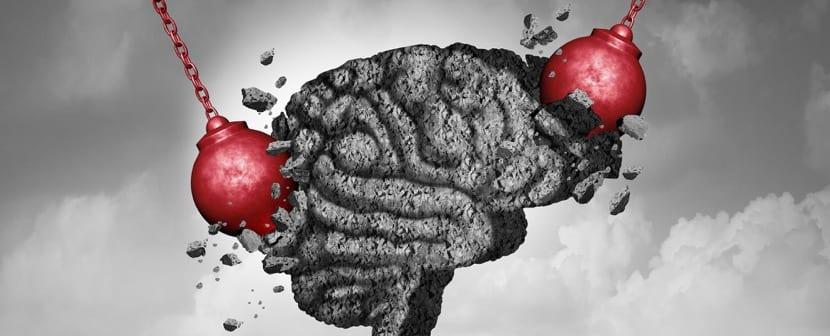 golpes emocionales en el cerebro por trauma