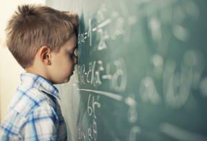 niño con dificultades de aprendizaje