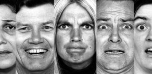 caras de emociones básicas