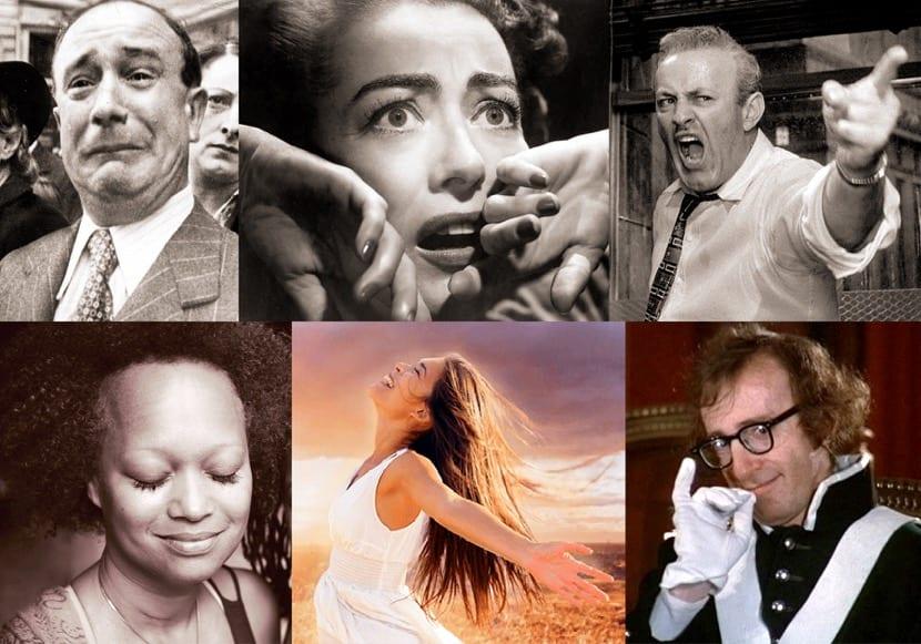 collage de emociones básicas