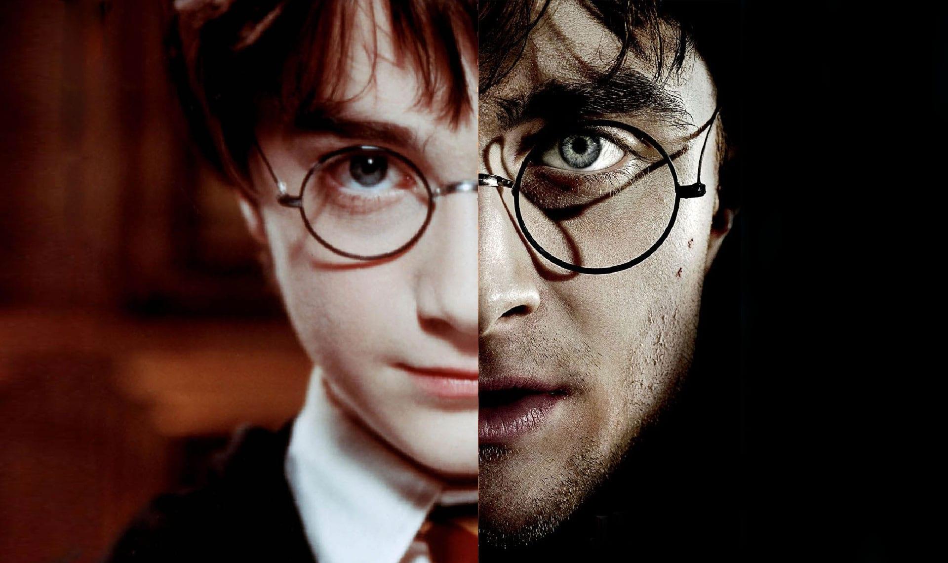 Harry Potter antes y ahora