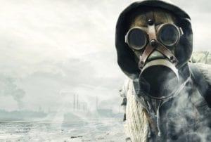 símbolo de persona tóxica con máscaras
