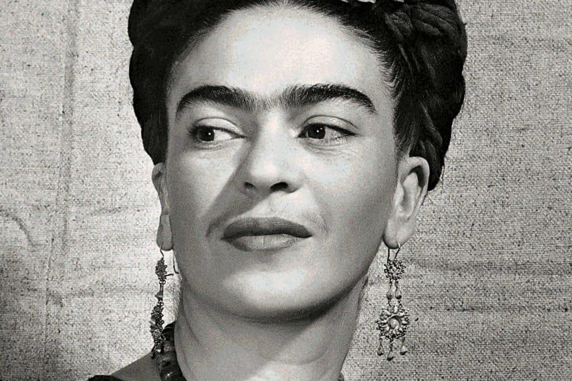 fotografia de frida kahlo de cerca