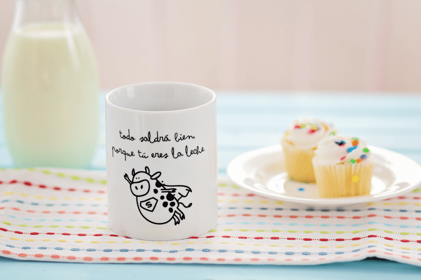 taza con frase motivadora de mr wonderful