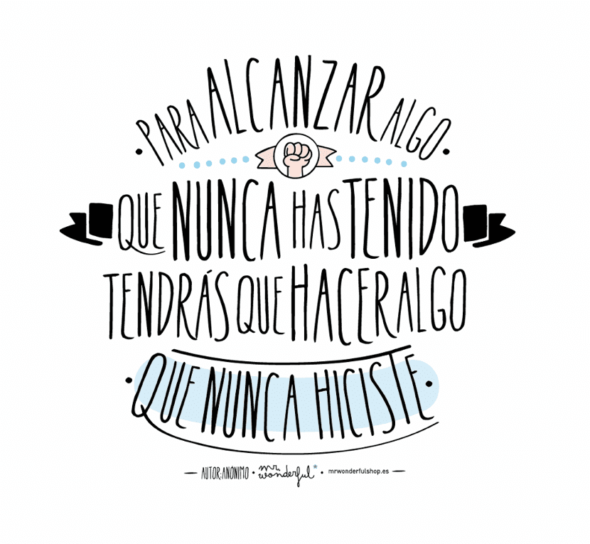 frases de exito de mr wonderful