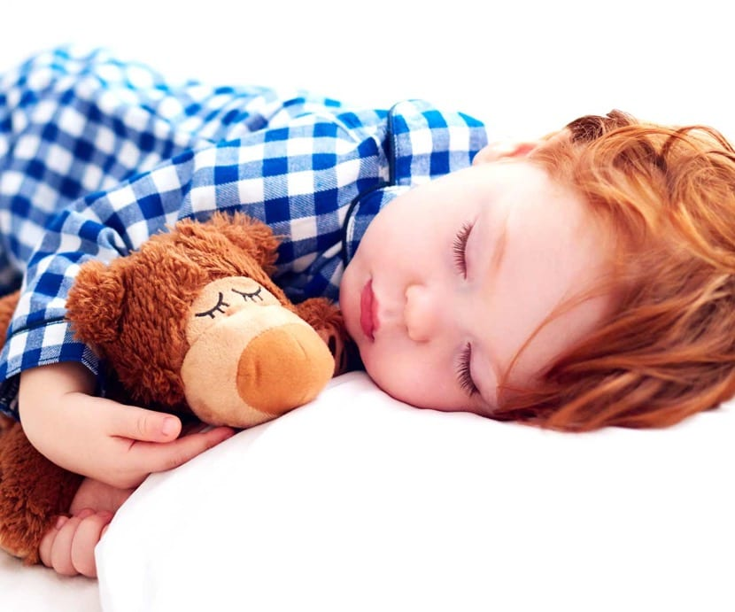 nene durmiendo por metodo estivill