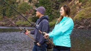 ir de pesca como hobby