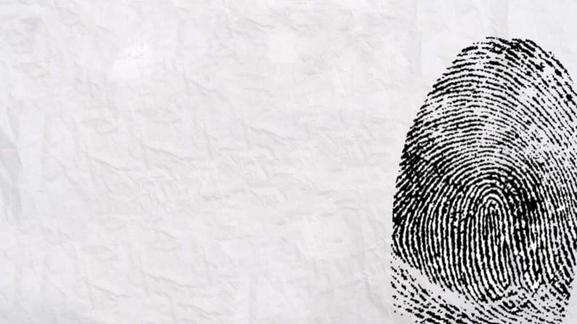 huella como identidad personal
