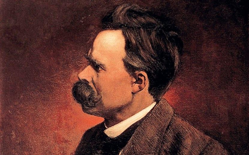 pintura de Friedrich Nietzsche