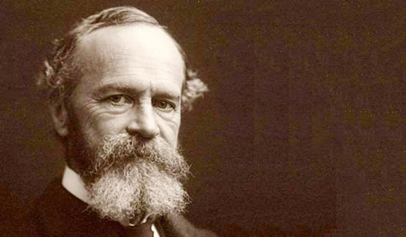 retrato de william james
