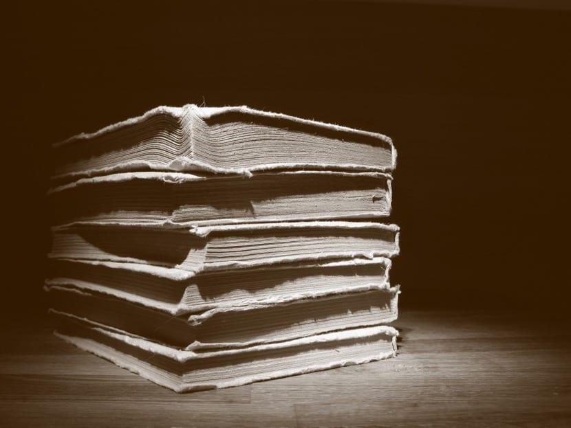 libros con obras antiguas