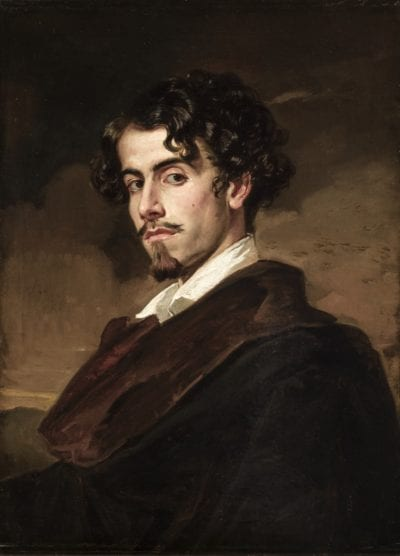 retrato de gustavo adolfo becquer