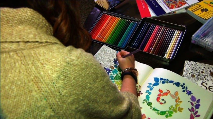 pintar mandalas con colores