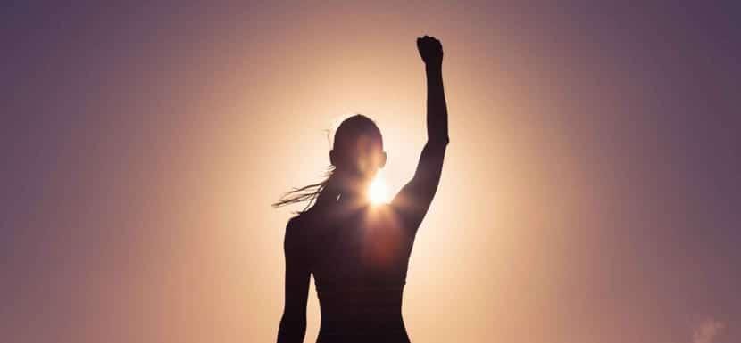 llegar a la meta con perseverancia