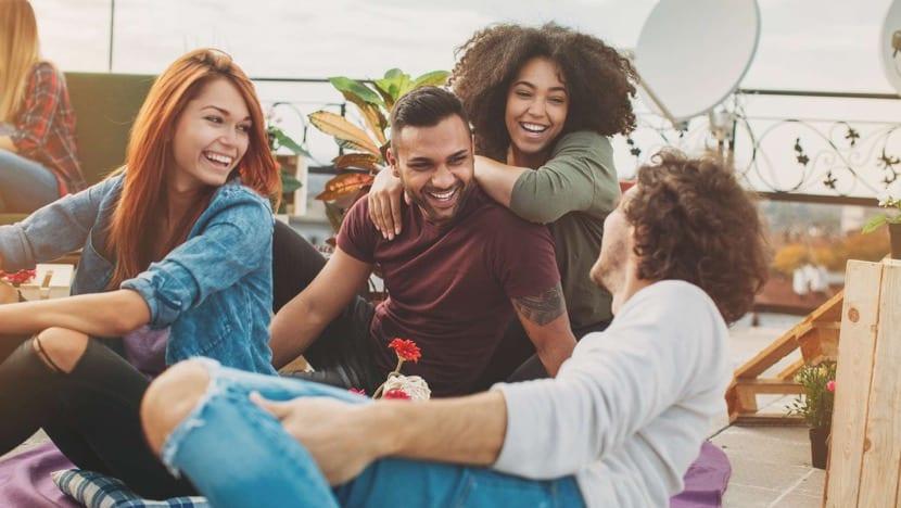 risoterapia entre amigos