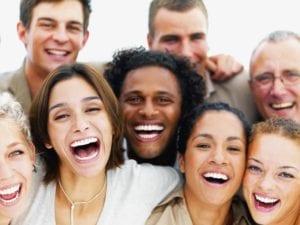 risoterapia entre un grupo