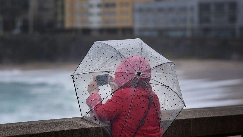 deferencia en dias de lluvia