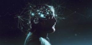 simbolo cerebral de la enfermedad de huntington