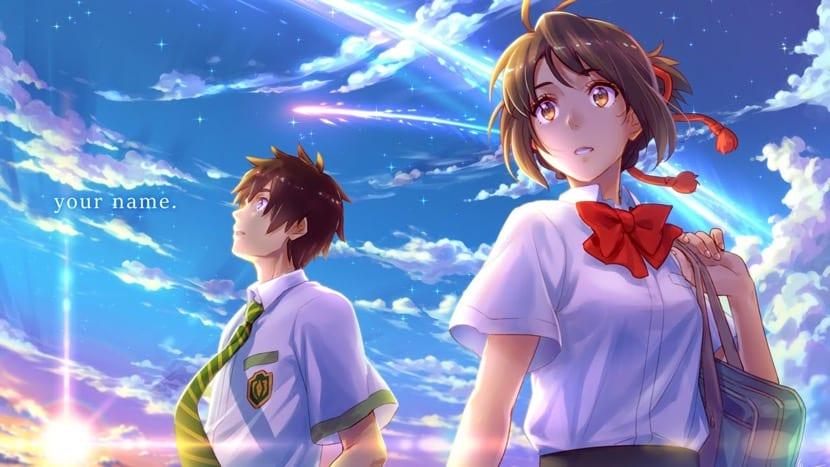 pelicula japonesa de anime your name