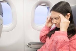 trastorno de somatizacion en un avion