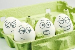 cuatro tipos de temperamento simbolismo huevos