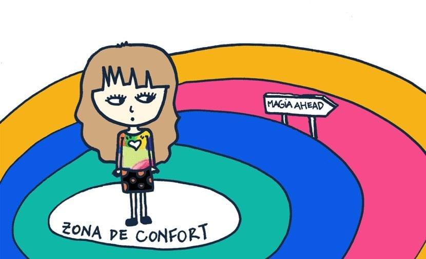 magia al salir de la zona de confort