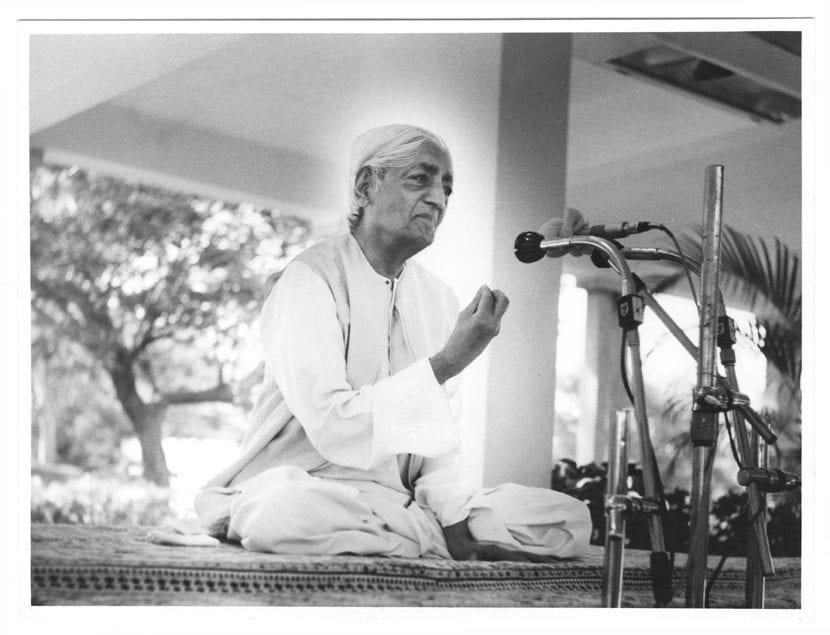 Jiddu Krishnamurti seminario