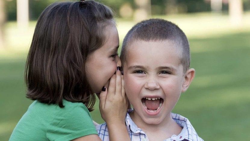 nenes con trastorno del lenguaje
