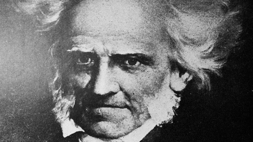 Arthur Schopenhauer blanco y negro