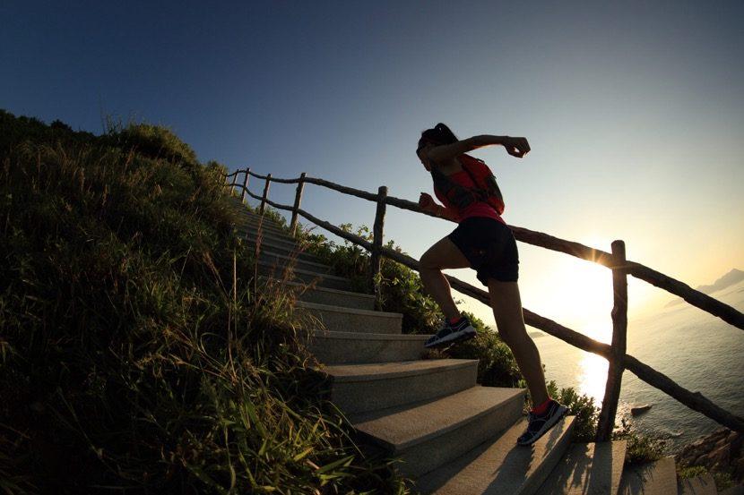 perseverancia subir escalera
