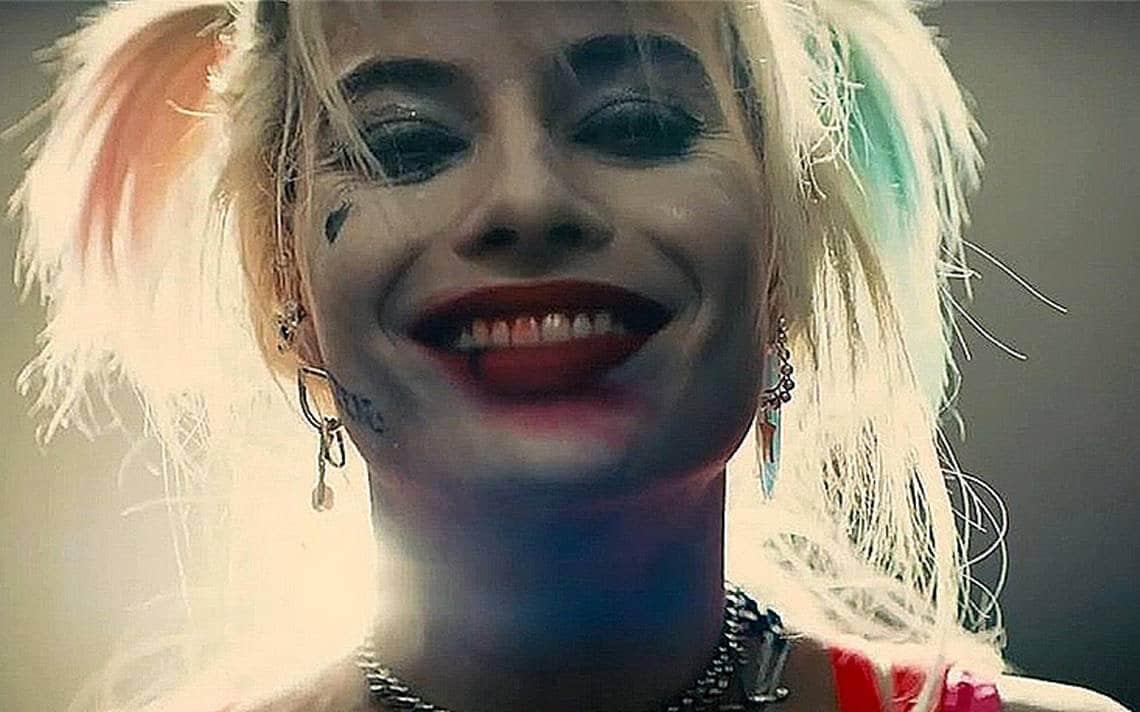 Harley Quinn sonriente