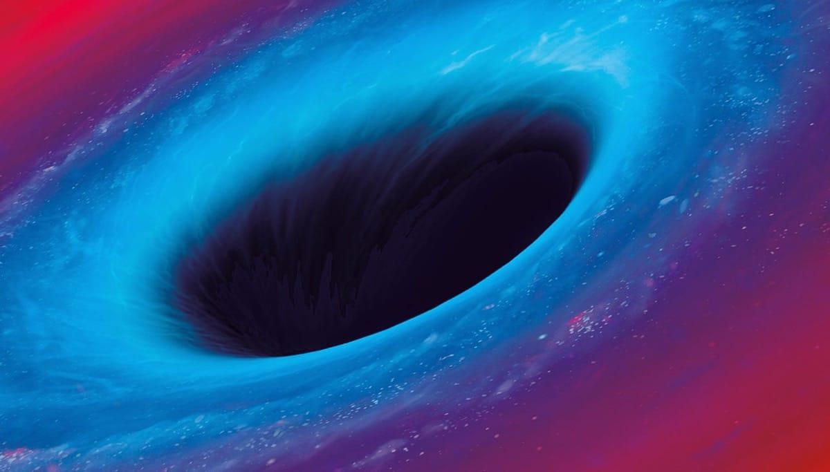 agujero negro en el universo