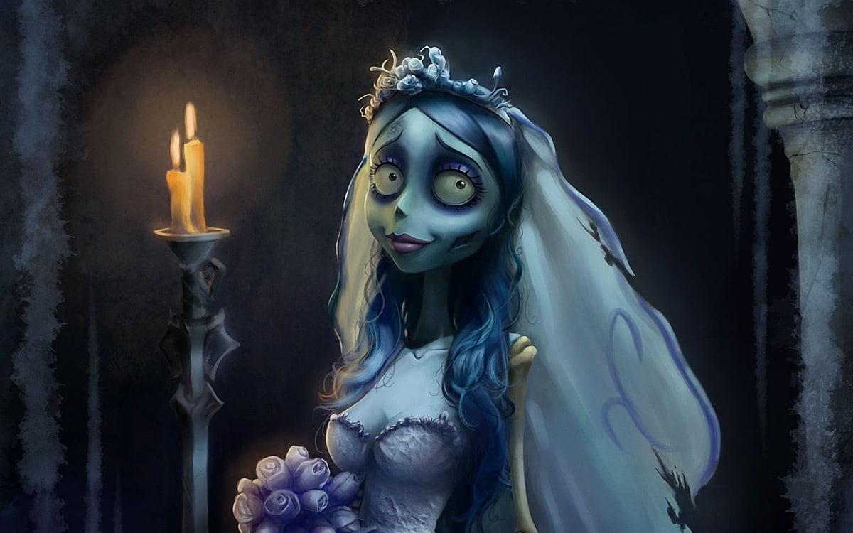 la novia cadaver dibujo