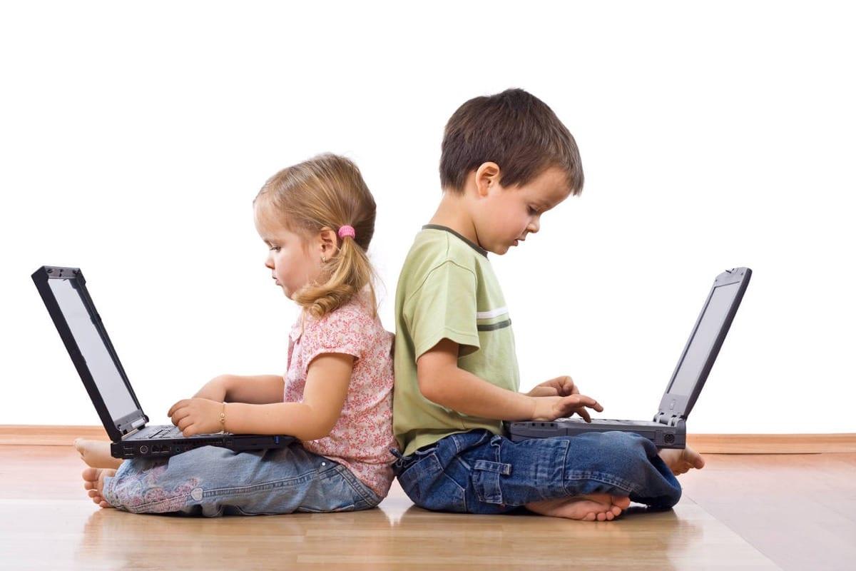 nenes y nuevas tecnologias