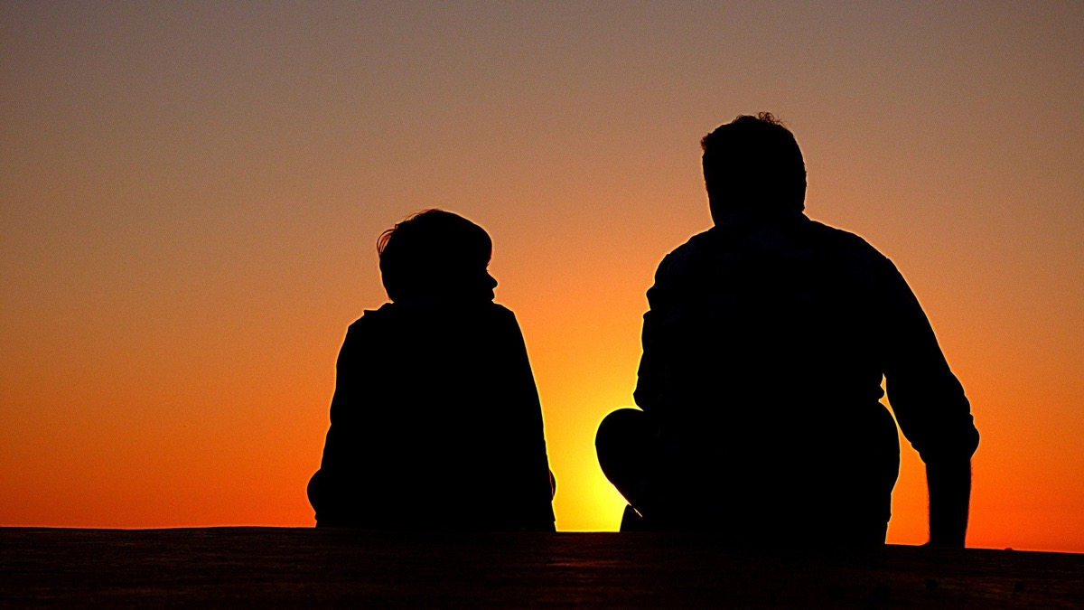 padre e hijo con metaforas