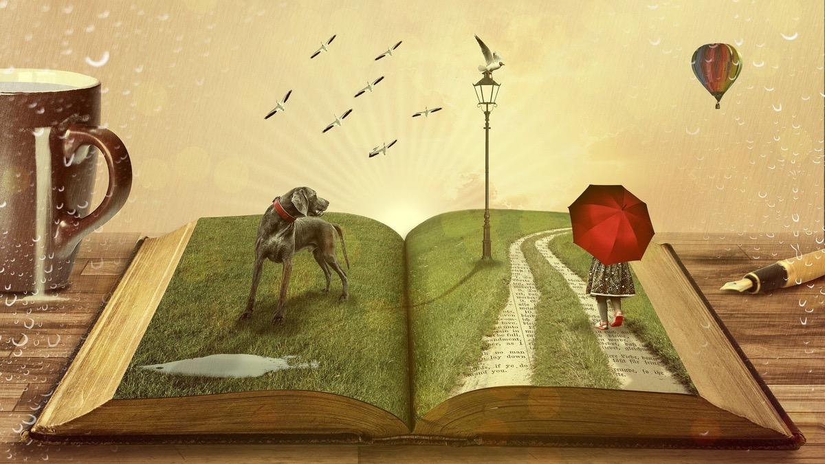 Los libros pueden ayudarte a sentirte bien
