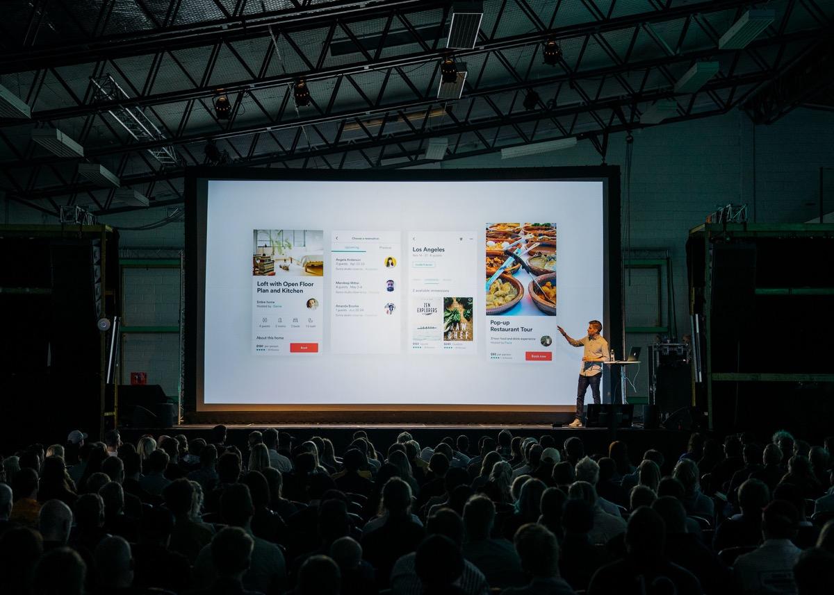 La presentación de PowerPoint te será útil en una conferencia