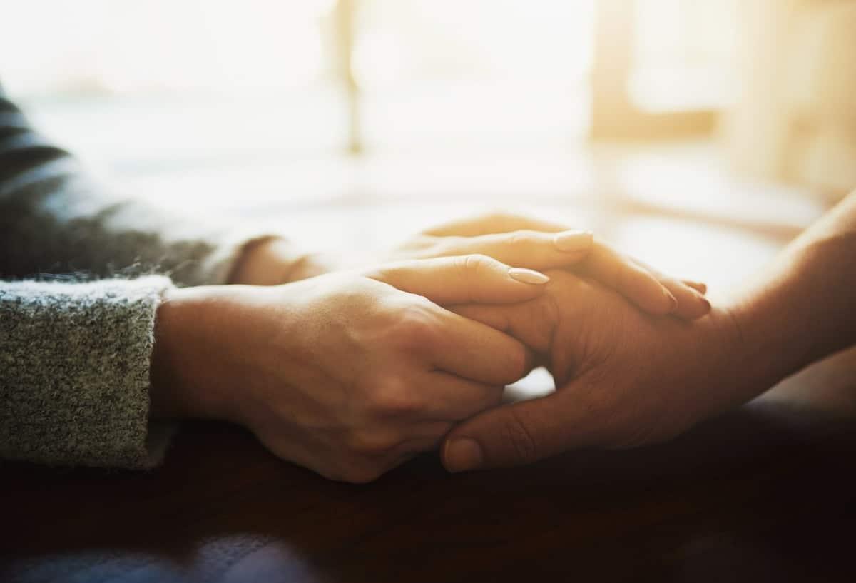 Reconfortar a otros con frases de pésame