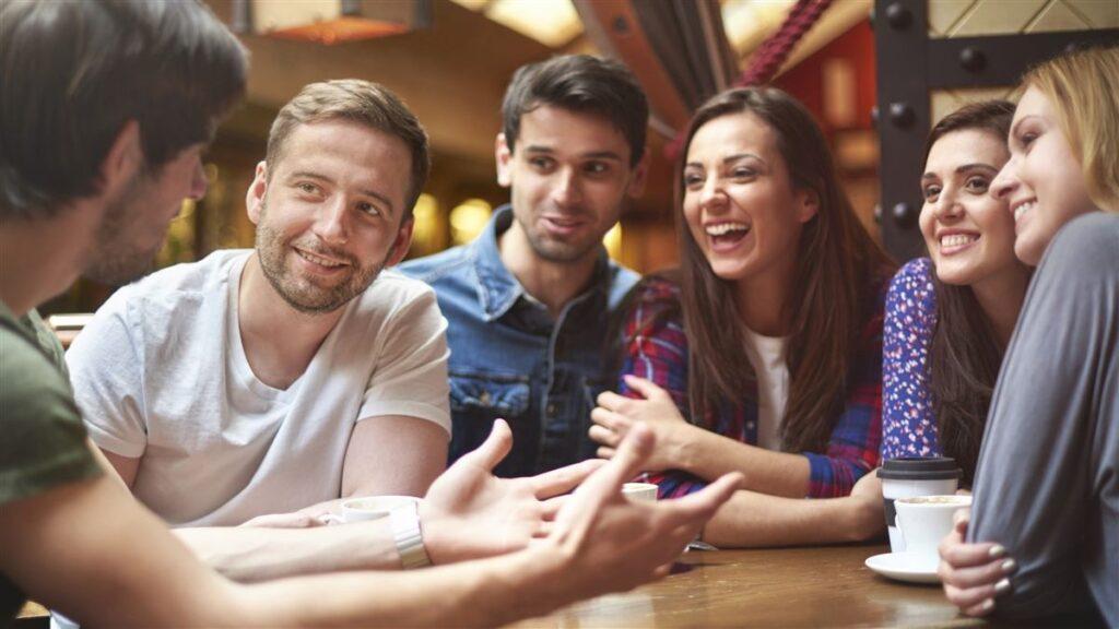 Temas de conversación en grupo